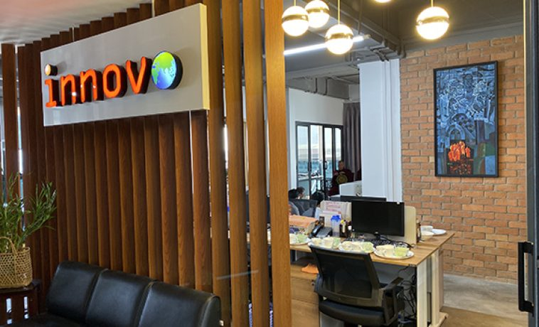 Innovo in Myanmar Move to New Office